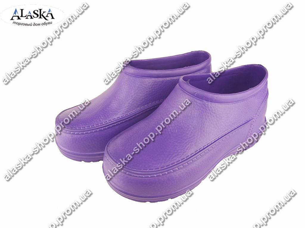 Галоши женские (Код: ГП-11 жен фиолет )