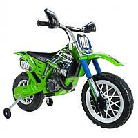 Электромотоцикл Cross Kawasaki 6 V Injusa 6775