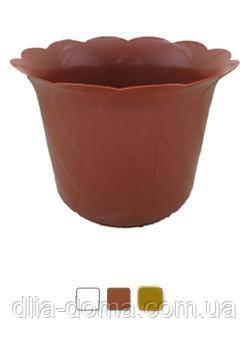Цветочный горшок Тюльпан , диаметр 19 см