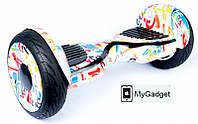"Гироборд Smart Balance Elite Lux 10,5"" Граффити + Сумка в подарок!"