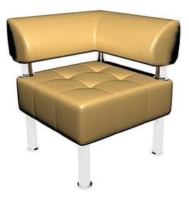 Угловой элемент к офисному дивану Тонус кожзаменитель Родео-01 (Sentenzo TM)