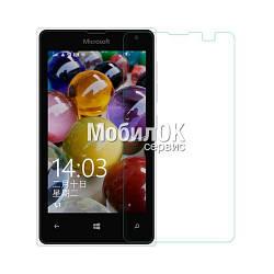 Ударопрочное защитное стекло (пленка) для Microsoft 435 Lumia/532 Lumia