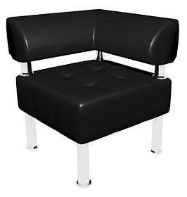 Угловой элемент к офисному дивану Тонус кожзаменитель Родео-00 (Sentenzo TM)