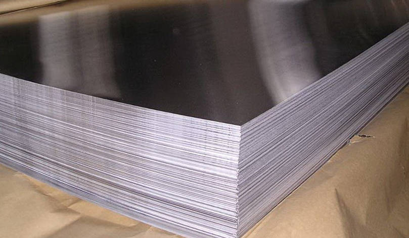 Лист 10Х13Г18Ду (Ди61у) нержавеющий 0.8 мм, фото 2