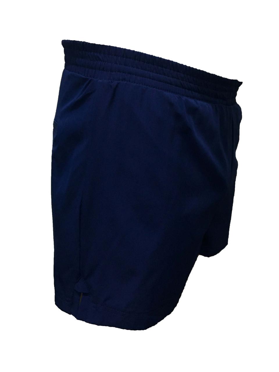 Мужские синие короткие шорты Adidas плавательные, 42 размер  (Реплика)