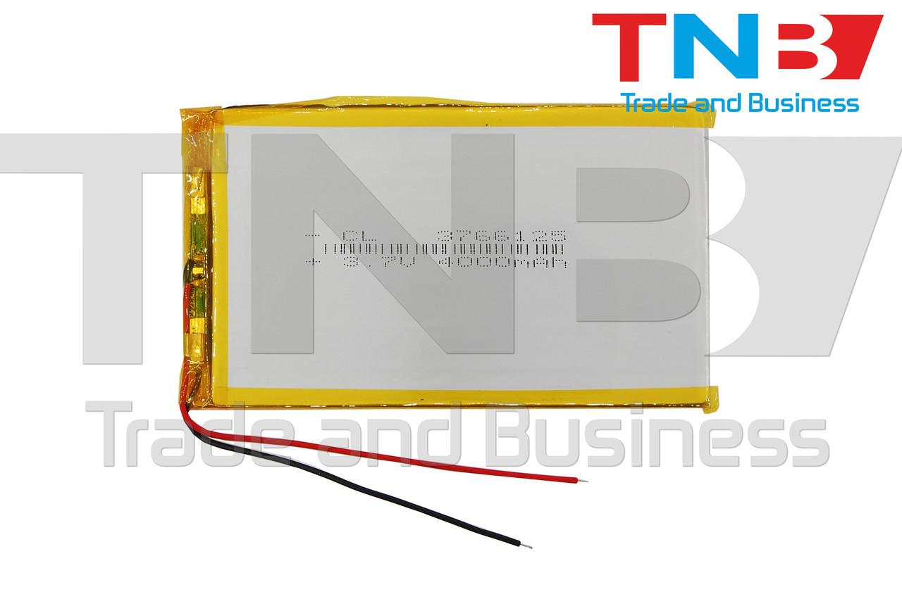 Батарея для планшету 3,7V 112x66x3mm 2pin 4000mAh