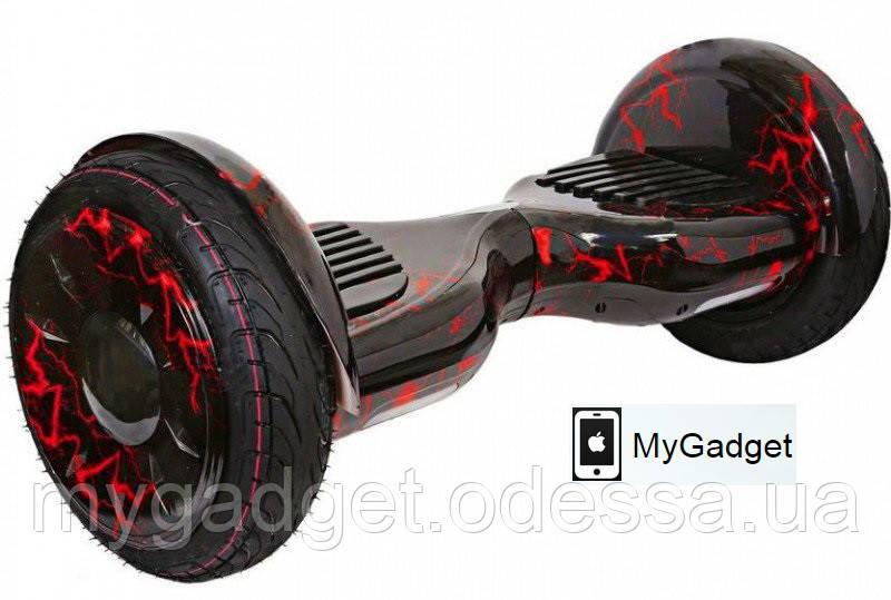 """Гироскутер Smart Balance Elite Lux 10,5"""" Красная Молния + Сумка в подарок!"""