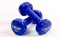 Гантели для фитнеса с виниловым покрытием Beauty (2x3кг) TA-5225-3(B)