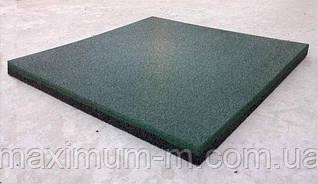 Плитка резиновая для игровых комплексов 500х500х20 мм