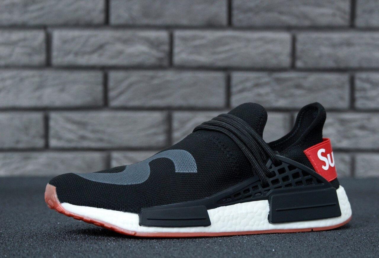 5f30efee804b1 Кроссовки Adidas NMD Human Race Supreme Black Grey купить в Киеве ...