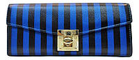 Женский кошелек полоска, материал кожа IVU-310381, фото 1