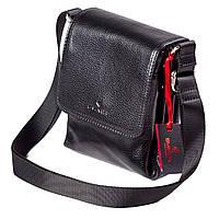 Мужская сумка кожаная чёрная  Eminsa 6097-37-1