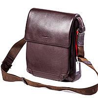 Мужская сумка кожаная коричневая Eminsa 6090-12-3