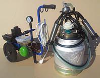Доильный аппарат стелла аид-1-01 масляный, стаканы нержавейка, доильный аппарат аид 1