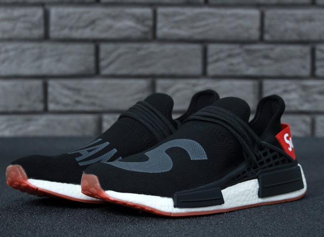 Adidas NMD Human Race Supreme Black Grey
