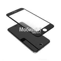 Ударопрочное защитное 3D стекло для Apple iPhone 6 черное