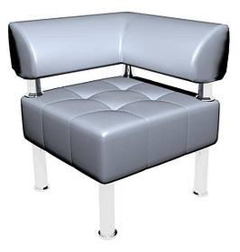 Угловой элемент к офисному дивану Тонус кожзаменитель Флай-2232 (Sentenzo TM)