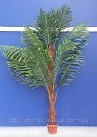 Искусственные деревья - Пальма на пушистом стволе