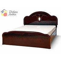 Кровать двухспальная Лаура 1.6 м, Світ меблів