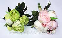Искусственные цветы - Пион пучок