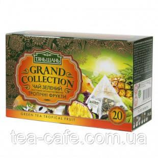 Зелений чай Тянь-Шань Тропічні Фрукти - 20пак.