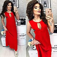 Платье длинное в расцветках 25083, фото 1