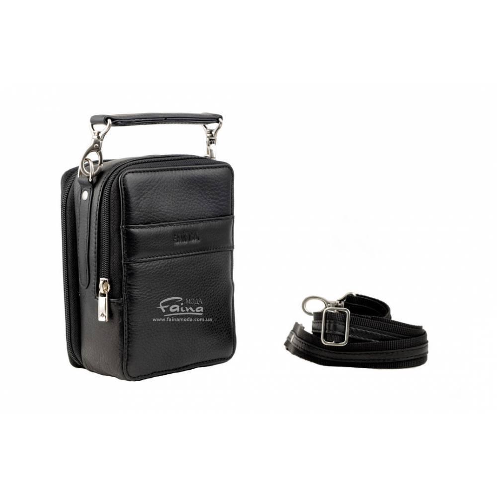 36659395cf3d Мужская сумка кожаная черная Eminsa 6010-12-1: продаж, ціна в ...