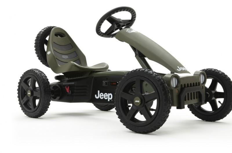Велокарт Jeep Adventure Berg 24.40.10.00. Веломобиль детский