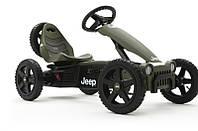 Велокарт Jeep Adventure Berg 24.40.10.00. Веломобиль детский, фото 1