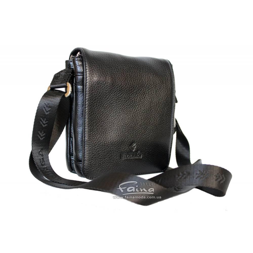 Мужская сумка кожаная чёрная Eminsa 6022-37-1  продаж 78786bc31b84e
