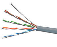 Интернет кабель UTP cat 5E 4PR (0,50мм) Cu PVC 305м FinMark