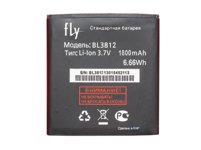 Аккумулятор на Fly BL3812, 1650 mAh Оригинал