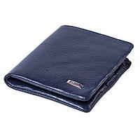 Чоловічий гаманець шкіряний синій / Чоловічий гаманець шкіряний синій BUTUN 237-004-034, фото 1
