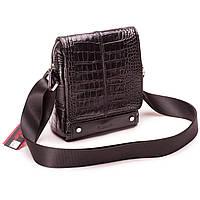 381b72d220be Чоловіча сумка шкіряна чорна  Мужская сумка кожаная черная Eminsa 6070-4-1