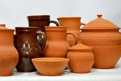 Посуда глиняная