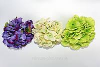 Головки искусственных цветов купить оптом Гортензия (насадка)