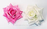 Искусственные цветы головки Роза открытая (насадка)