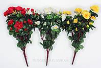 Искусственные цветы - Роза+азалия