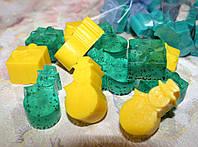 "Новогодний набор мыла  ""Киви-лимон"" (10шт.)"
