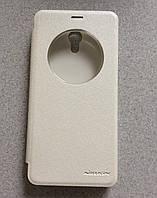 Чехол-книжка Nillkin Sparkle Meizu M5 Note white (белый) (16072026)