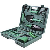 ★Набор садовых инструментов ZHENJIE GT-003 10 в 1 лопатки грабли секатор ороситель для сада огорода
