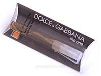 Мужской мини-парфюм 8 мл dolce&gabbana the one for men, дольче габбана зе ван (копия)