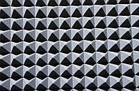 Акустический поролон Ecosound пирамида 50мм 1х1м светло-серый,подвержен выцветанию, фото 1