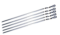 """Шампур """"уголок"""" из нержавеющей стали, длина 600 мм, ширина 14 мм, толщина 1 мм, производство Украина"""