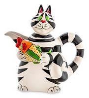 """Сливочник """"Веселий кіт"""" Pavone Bs-18"""
