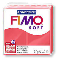 Полимерная глина Фимо Софт Fimo Soft  Фламинго №40, 57г, фото 1