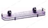 Полочка для ванной комнаты одинарная (3153с)