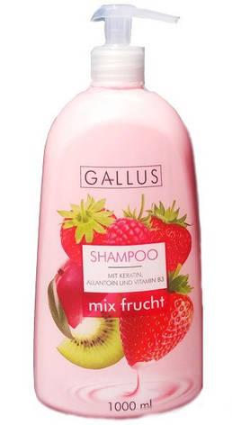 Шампунь Gallus Mix Frucht, 1 л (Германия), фото 2