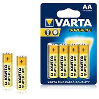 Батарейка VARTA SUPERLIFE R-6 AA Блистер (солевая) 4шт / бл. 48 шт. / Ок 267