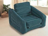 Надувное кресло-трансформер intex 68565 (109х218х66 см) zn, hn kk